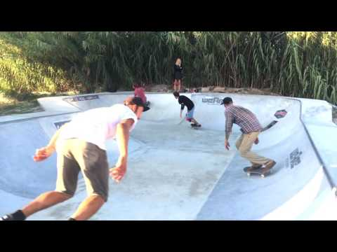 Drop In Surfcamp Portugal - Skate Bowl Session September