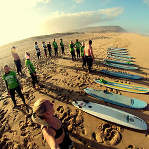 Drop In Surfcamp Portugal - Wellenreiten