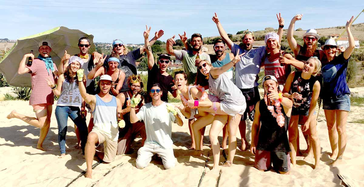 Drop In Surfcamp Portugal - Unser Team